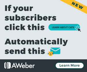 Aweber automations banner