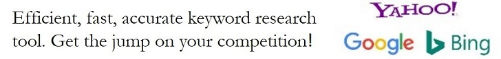 The Jaaxy keyword research tool will give you that competitive edge
