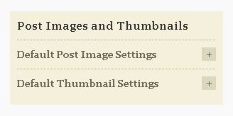 Post Images and Thumbnails