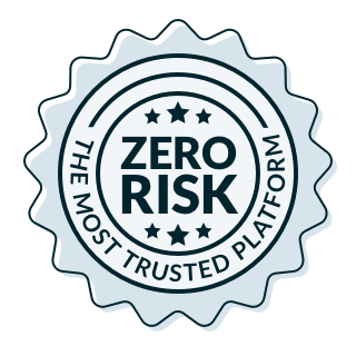 Wealthy Affiliate no risk badge