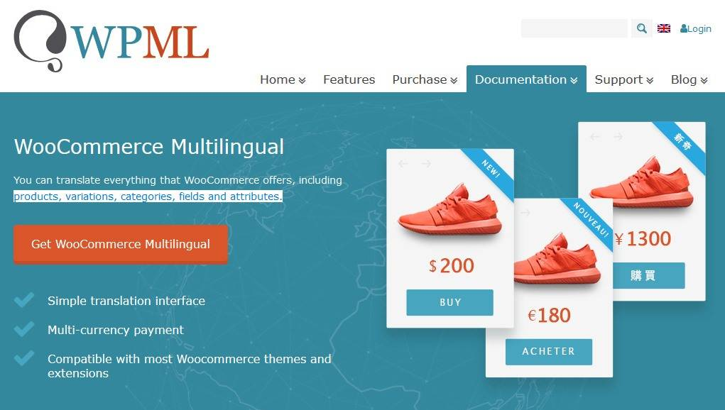 Woo Commerce Multi Lingual