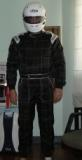 Me in my racing suit.