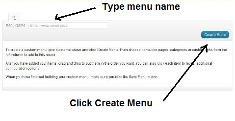 Create a WordPress Nav Menu